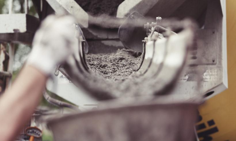 Un calcestruzzo con plastica riciclata